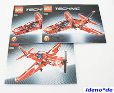 lego instruction de montage techniques Technic 9394 Jet düsenjet NEUF TOP réf.