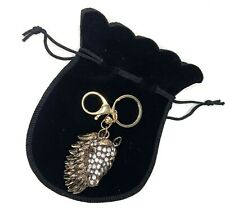 Crystal Horse Keyring / Bag Chain with Velvet Gift Pouch Christmas Gift