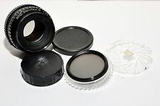 SMC Pentax-A  50mm F1.7 K Mount Lens w caps and Hoya CPL filter nice shape