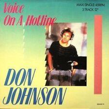 """Don Johnson Voice on a hotline (1987) [Maxi 12""""]"""