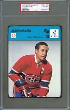 1978 Sportscaster Finnish Card JEAN BELIVEAU Montreal Canadiens PSA 6 Very Rare!