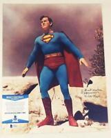 "KIRK ALYN ""SUPERMAN"" SIGNED 11X14 PHOTO SUPERMAN BAS COA 818"