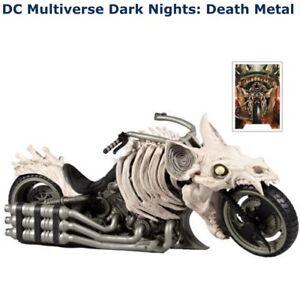 DC McFarlane Multiverse Batman Batcycle Death Metal Bone Bike Dark Nights Hell