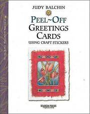 Peel-off Greetings Cards by Judy Balchin (Paperback, 2003)