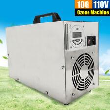 Indoor Ozone Generator Air Purifier 10g Mold Odor Control Ozone Generator