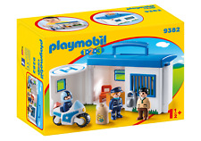 Playmobil 9382 - 123 Take Along Police Station - NEW!!