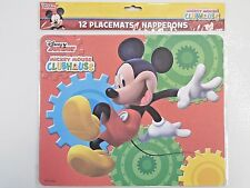 Disney Junior MICKEY MOUSE CLUBHOUSE Birthday Party PAPER PLACE MATS Table Decor