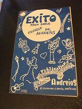 Partition Exito Paso Doble Andreios Music Sheet
