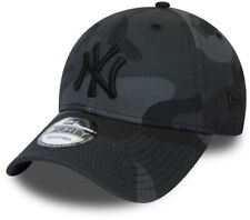 NY Yankees New Era 940 Camo Essential Midnight Camo Baseball Cap