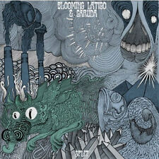 "BLOOMING LÁTIGO / GARUDA Split 12"" . metal sludge stoner rock experimental"