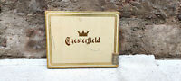 Vintage Liggett & Myers Tobacco Chesterfield Cigarette Tin Box England 1930s