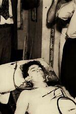 """1934 TRUE CRIME Clyde Barrow Post Mortem Morgue After Ambush 4""""x6"""" Reprint CB2"""