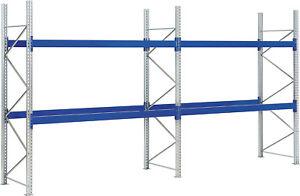Palettenregal - Höhe 2,50m - Schwerlastregal - Hochregal - für Gewerbetreibende*