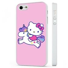 Hello Kitty Unicorn Pink Colourful WHITE PHONE CASE COVER fits iPHONE