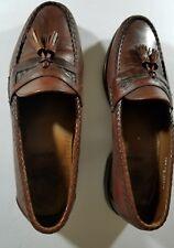 Allen Edmonds Maxfield Tassel Dress Loafers Shoes Brown Men's Size 10 D MEDIUM