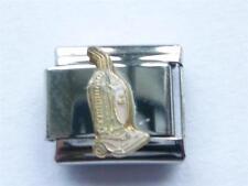 SILVER ITALIAN CHARM HOOVER VACUUM CLEANER  fits all design 9mm bracelet AE9