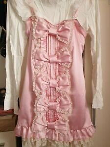 Pink sweet bow lolita dress