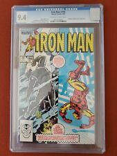 Iron Man #194 CGC 9.4  5/85 3716137017 - 1st app. of the Scourge & Alice Nugent