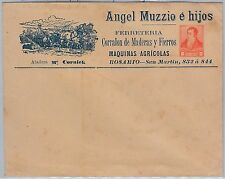 ARGENTINA - POSTAL STATIONERY COVER with PRIVATE PRINTING : HORSES Agricolture