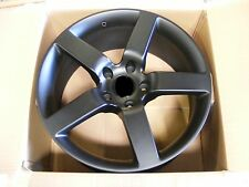 "20"" RINSPEED STYLE 20x9 BLACK WHEEL REPLACEMENT 5x130 FIT CAYENNE Q7 VW TOUAREG"