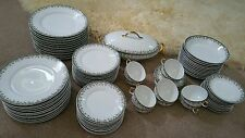 82 Pc. Set of 1920's UC Limoges France China