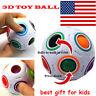 Spheric Ball Rainbow Magic Cube 3D Puzzle Twist Toy Brain Teaser Kids Gift*