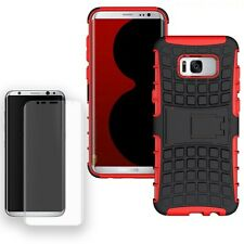Hybrid Coque Protectrice 2teilig Rouge Pour Samsung Galaxy S8 Plus G955F+