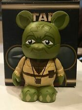 DISNEY VINYLMATION STAR WARS JEDI MASTER YODA TOY WITH BOX RARE COLLECTIBLE