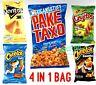 PAKETAXO QUEXO Mexican CHIPS 65G, DORITOS 3D, CRUJITOS, CHEETOS POFFS, PALOMITAS