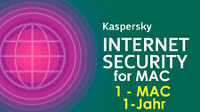 Kaspersky Internet Security for 1-MAC 1-Jahr VOLLVERSION KEY ESD Download