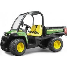 Bruder John Deere Gator 855D ohne Fahrer 2491 grün Landwirtschaft Forstwirtsch