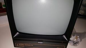"1x NATIONAL Electronics inc M900X , 7"" Video Display Monitor , AC220V / 50Hz new"