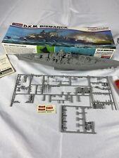 German Battleship D.K.M. Bismark Model Kit Monogram