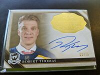 Robert Thomas The Cup 2019 Rookie Class Gold Spectrum Autograph Hard Signed /75