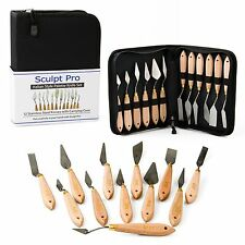 Palette Painting Knife Set- 12 Stainless Steel Art Palette Knives with Carryi...