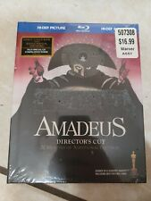 Amadeus director's cut (Blu-ray + Cd + 35 page book, 2009) New, sealed