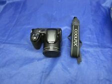 Nikon COOLPIX L330 20.2MP Digital Camera - Black With Charger and Batteries