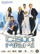 C.S.I. Miami : Seizoen 1 aflevering 1 t.e.m. 12 (3 DVD)