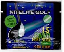 """12 Jumbo Lightsticks 1.5"""" for Nitelite Glow Golf Balls"""