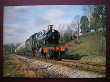 POSTCARD GWR 4-6-0 NO 7819 'HINTON MANOR' APPROACHES BEWDLEY