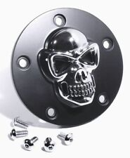 3d Skull ignición tapa Black negro para Harley-Davidson softail calavera