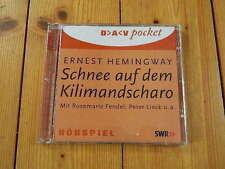 Ernest Hemingway Schnee auf dem Kilimandscharo Rosemarie Fendel  Peter Lieck...
