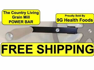 Country Living Grain Mill - Power Bar Handle - NEW