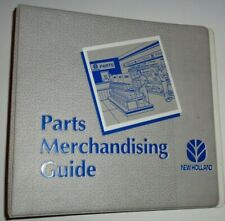 New Holland Parts Merchandising Guide 3-Ring Manual Catalog Book Binder 3.75""