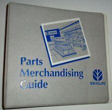 New Holland Parts Merchandising Guide 3 Ring Manual Catalog Book Binder 375