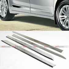Chrome Door Side Body Lower Moldings Trim Kit fits 2011 - 2016 Toyota Sienna