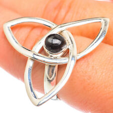Large Black Onyx 925 Sterling Silver Ring Size 9 Ana Co Jewelry R68339