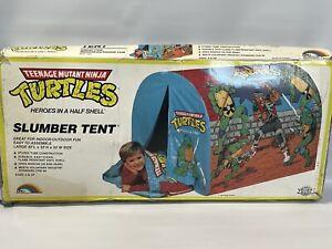 Vintage Teenage Mutant Ninja Turtles 1988 Mirage Studios Slumber Tent NEW In Box
