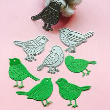 4PC Birds Cutting Dies Stencil DIY Scrapbooking Album Paper Card Embossing Craft