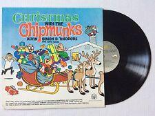 DAVID SEVILLE CHRISTMAS WITH THE CHIPMUNKS #2 ALVIN SIMON & THEODORE vinyl MINT
